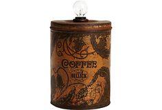 Coffee Can Lamp