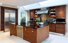 дневник дизайнера: Walnut & Silver - роскошные кухни с островом от Smallbone of Devizes
