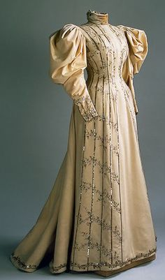 1890s Day dress.