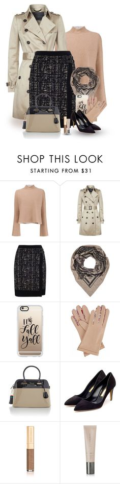 """Scarf weather"" by molly2222 ❤ liked on Polyvore featuring Proenza Schouler, Burberry, Phase Eight, Lala Berlin, Casetify, Gizelle Renee, Rupert Sanderson, Dolce&Gabbana and Tada & Toy"