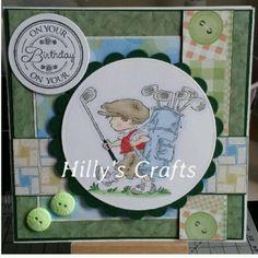 HANDMADE BOY MAN BIRTHDAY CARD LOTV STAMPED IMAGE In Crafts