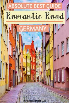 Here's a complete guide to every must see site on Germany's famed Romantic Road. From the vineyards of Würzburg to the foothills of the Alps, the 200 mile European Travel Tips, Travel Tips For Europe, Europe Destinations, Holiday Destinations, Road Trip Europe, Road Trips, Travel Guides, Travel Advice, Romantic Road