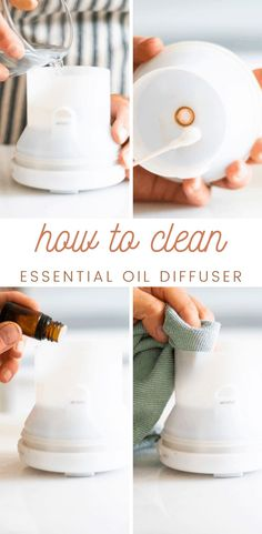 Learn how to clean a diffuser effectively and safely for optimal use. Keeping your diffuser clean is one of the best ways to extend the life of the diffuser and to be sure it is running properly. #howtocleanadiffuser #essentialoils #diffusers #maintainingdiffusers