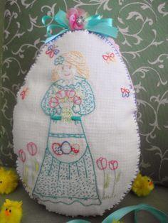Babùn e altro...: Uovo di Pasqua stitchery