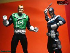 https://flic.kr/p/Dj3MQ4 | Guy Gardner and Bullseye | Marvel DC Crossover Series