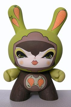 """""""Miss Dunny – 20 inch dunny made by Julie West"""""""