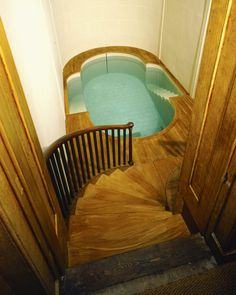 I like any tub that's large enough to require stairs.