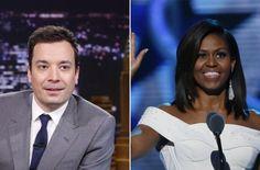 """""""Evolution of Mom Dancing"""" – Michelle Obama und Jimmy Fallon auf der Bühne"""