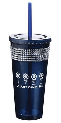 Maltese 20oz Bling straw tumbler  Double walled acrylic  Includes matching propeller straw and stirrer  Perfect for Cheer, dance or anyone looking to dazzle!  NOT Dishwasher safe!