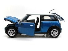 Motor Max 1/18 Scale 2001 Mini Cooper R50 Blue Diecast Car Model 73114 www.DiecastAutoWorld.com 2312 W. Magnolia Blvd., Burbank, CA 91506 818-355-5744 AUTOart Bburago Movie Cars First Gear GMP ACME Greenlight Collectibles Highway 61 Die-Cast Jada Toys Kyosho M2 Machines Maisto Mattel Hot Wheels Minichamps Motor City Classics Motor Max Motorcycles New Ray Norev Norscot Planes Helicopters Police and Fire Semi Trucks Shelby Collectibles Sun Star Welly