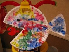 Easy Ocean Crafts For Preschool - Bing Images do with paint or tissue paper