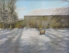 Winter by Eugene Conway | Irish Art at Gormley's Fine Art - Irish Art, Gallery, Irish Artists, Northern Ireland