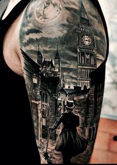 Sleeve tattoo #ink #inked #tats #tatted