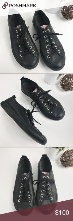 CAMPER Black Leather Low Profile Sneakers - Clean and smoke free home - No holes or stains - Soles are in excellent condition and show minimal signs of wear - Black leather in excellent condition still - Size 43 EU which is equivalent to a size 10 in the USA - Retail for $160 - Check out my other listings Camper Shoes