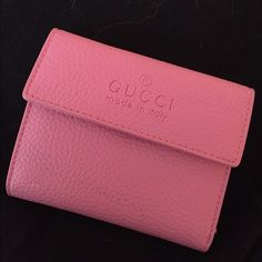 Gucci wallet Pink Gucci Wallet, super girly, cute and small. Gucci Bags Wallets