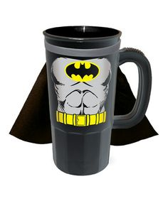 Take a look at this Black Batman Caped Stein by ICUP Inc. on #zulily today!