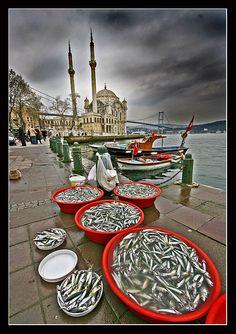 Abundance Ortakoy mosque İstanbul Turkey