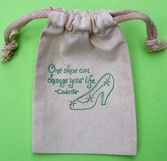 Cinderella Party Favor Bags / Set of 10 / by littlechicklets, $12.50