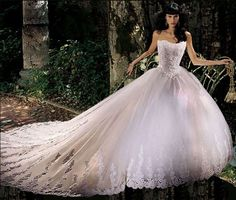 Sprookjesachtige sissi jurk Liliana