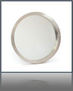 36dia Frisbee Mirror   Tonic Home