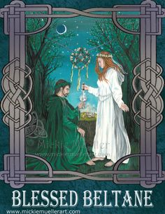 Blessed Beltane!  Happy May Day!