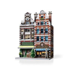 Build, Create and Collect with URBANIA 3D puzzles! Design the main street of your own town with this collection of urban shops and emblematic buildings. 