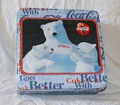 Coca Cola Polar Bear Puzzle with Tin | eBay