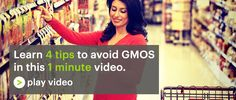 4 Tips to avoid buying GMO Foods. Download a Non-GMO Shopping Guide http://nongmoshoppingguide.com/