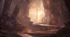 Halls of.... by Juhupainting on DeviantArt