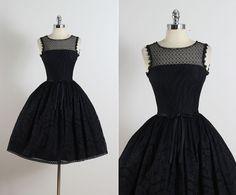 Jonathan Logan . vintage 1950s dress . 50s by millstreetvintage