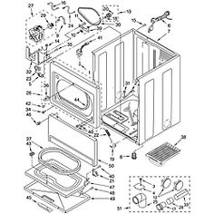 Kenmore 90 Series model 110.60912990 parts diagram