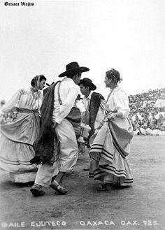 Baile Ejuteco en Cd. de Oaxaca , Oaxaca Mexico