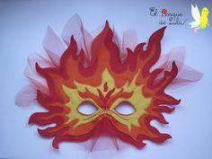 El Bosque de Lulú: Máscaras de carnaval.