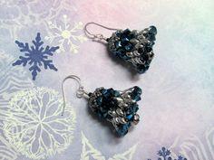 Christmas Bell Earrings Christmas Earrings by HappyEverythingElse
