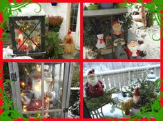 Merry Christmas from me and my garden Margeritten :) We had some snow this year too - not on Christmas Eve, but on 27th :) So wonderful!! By Inger Johanne 12/2015 :)
