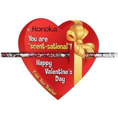 You Are Scent Sational Valentine Cards And Pencils Kit
