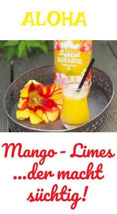Im Sommer mache ich neben Erdbeer - Limes auch sehr gerne Mango - Limes. Aber das Zeug macht wirklich süchtig. Eisgekühlt getrunken im Sommer eine wahre Freude. Im Thermomix in wenigen Minuten hergestell