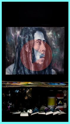 See this amazing painting being created from start to finish. You wont want to miss this!! Bob Marley Painting, Acrylic Portrait Painting, Mystic, Original Art, Videos, Amazing, Youtube, Nature