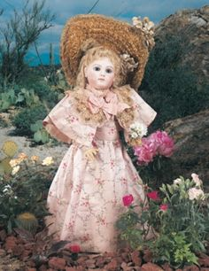For the Love of Dolls, The Mildred Seeley Collection: 185 French Bisque Portrait Bebe, 10X, by Jumeau