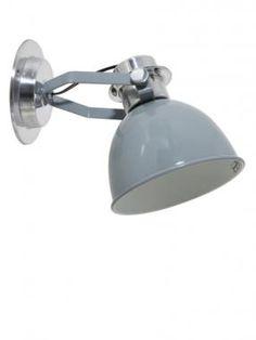 Mahon wall light - light grey