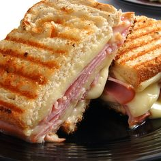 Ham and Brie Panini Recipe from Mamma's Recipes