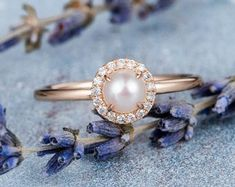 HANDMADE RINGS & BRIDAL SETS by MoissaniteRings on Etsy Bridal Ring Sets, Handmade Rings, Trending Outfits, Unique Jewelry, Engagement Rings, Pearls, Floral, Gifts, Merry