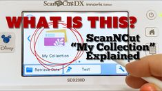 """ScanNCut """"My Collection"""" Explained - YouTube Brother Scanncut2, Scan N Cut, My Collection, Coloring Pages, Die Cutting, Youtube, Quote Coloring Pages, Kids Coloring, Youtubers"""
