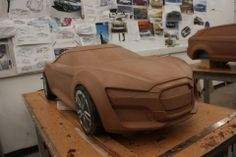 Clay modelo a escala 1:5 estudiante