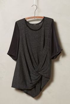 Amadi Twist-Front Tee #anthrofave