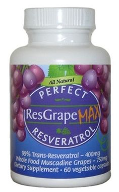 Perfect ResGrape MAX is an all natural blend of Trans-Resveratrol and Whole Food Organic Muscadine grapes. Perfect ResGrape combines 400 mg of pure, biologically active Trans-Resveratrol with 750 mg of Whole Food Organic Muscadine Grapes Red Wine Benefits, Non Organic, Anti Aging Supplements, Best Anti Aging, Whole Food Recipes, Juice Recipes, Vegan Gluten Free, Nutrition, Pure Products