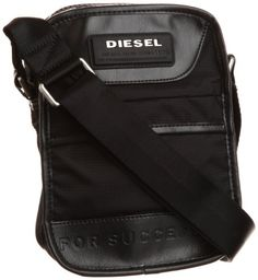 Diesel On The Road Twice New Fellow Cross Body Bag,Black,One Size Large