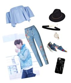 """""""Day out with Hobi"""" by shinigami-raijin ❤ liked on Polyvore featuring Alice + Olivia and Recover"""