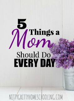 5 THING MOM SHOULD DO PINNABLE