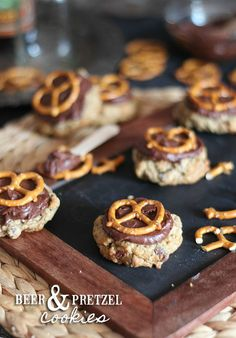 Beer and Pretzel Cookies